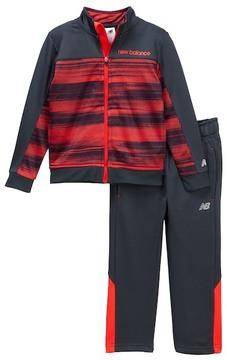 New Balance Colorblock Jacket & Pants Set (Toddler & Little Boys)