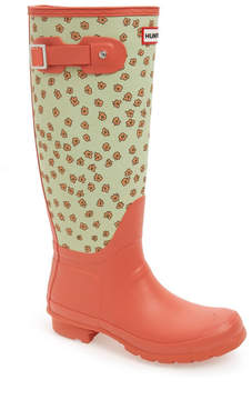 Hunter Tall Festival Floral Rain Boot