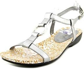 Lauren Ralph Lauren Karol Open-toe Leather Slingback Sandal.