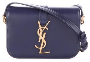 Saint Laurent Small Monogram Université Crossbody Bag - BLUE - STYLE
