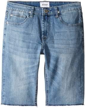 Hudson Hess Cut Off Slim Straight Shorts in Rhythm Blue (Big Kids)