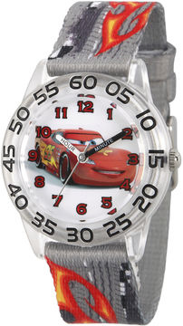 Disney Cars Boys Gray Strap Watch