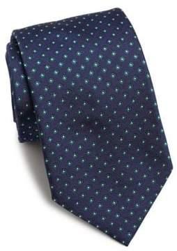 Eton Printed Silk Tie