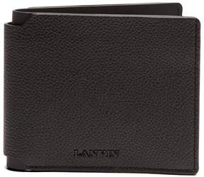 Lanvin Grained-leather bi-fold wallet