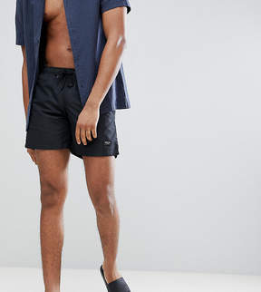 Nicce London tall swim shorts in black exclusive to asos