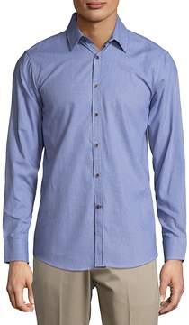 Report Collection Men's Cotton Casual Button-Down Shirt