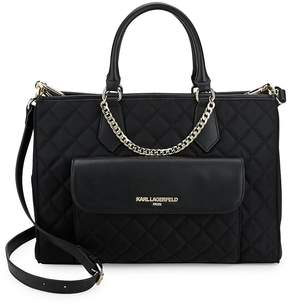 Karl Lagerfeld Women's Quilted Tote