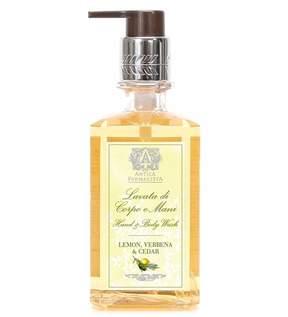 Antica Farmacista Lemon Verbena Cedar Hand Body Wash, 10 Oz