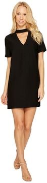 Brigitte Bailey Kimberley Short Sleeve Keyhole Dress Women's Dress