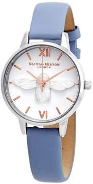Olivia Burton Midi 3D Bee White Dial Ladies Watch