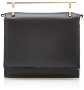 M2Malletier Cabiria Leather Wallet In Black
