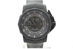 Corum Admirals Cup 961.101.94/F371 AN12 Stainless Steel & Rubber Mono Pusher Chronograph 44mm Mens Watch