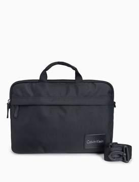Calvin Klein city logo briefcase