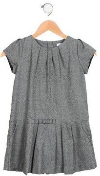 Jacadi Girls' Herringbone Shift Dress