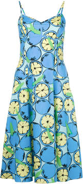 Moschino citrus print dress