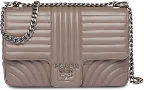 Prada Diagramme leather shoulder bag