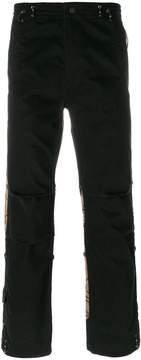 MHI tiger motif trousers