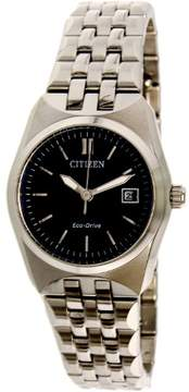 Citizen Ladies Corso Eco-Drive Blue Dial Stainless Steel Ladies Watch EW2290-54L