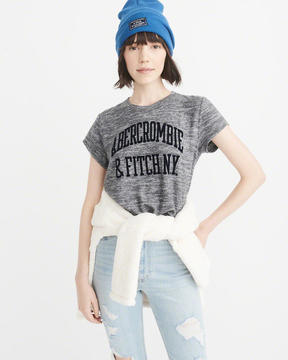 Abercrombie & Fitch Cozy Logo Tee