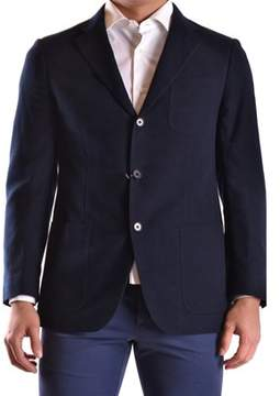 Cantarelli Men's Blue Cotton Blazer.