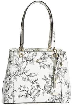 GUESS Kamryn Floral Shopper Tote