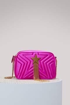 Stella McCartney Stella Star satin mini bag