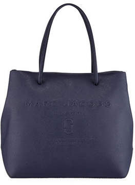 Marc Jacobs East-West Saffiano Leather Tote Bag - MIDNIGHT BLUE - STYLE
