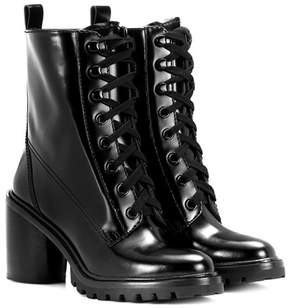Marc Jacobs Leather lace-up boots