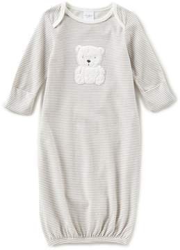 Starting Out Baby Boys Newborn-6 Months Bear-Applique Long-Sleeve Gown