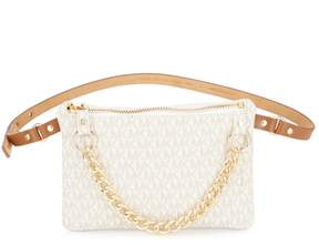 Michael Kors Belt Bag with Pull Chain - VANILLA - STYLE