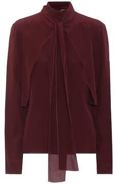 Bottega Veneta Silk crêpe de chine blouse