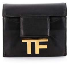 Tom Ford Pre-owned: Hidden Tf Shoulder Bag Leather Small.