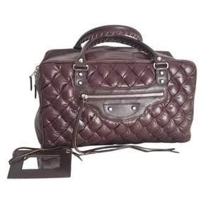 Balenciaga Brown Leather Handbag