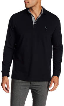 Tailorbyrd Regular Fit Long Sleeve Polo