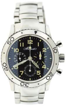 Breguet 3820 Stainless Steel Black Dial Automatic 40mm Mens Watch