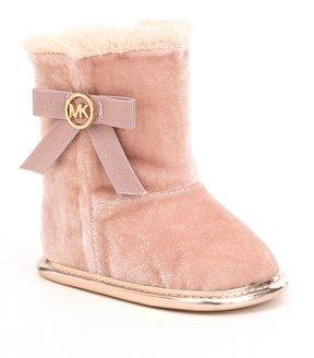 MICHAEL Michael Kors Girls Baby Sweet Crib Shoes