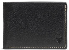 Trask Men's 'Jackson' Super Slim Leather Wallet - Black