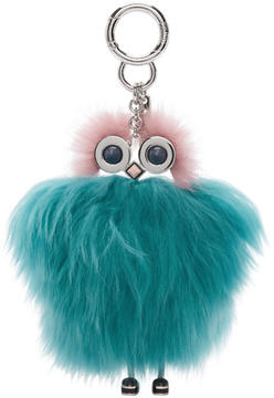 Fendi Blue and Pink Teen Witches Bag Charm