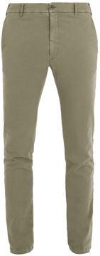 J.w.brine J.W. BRINE Owen cotton-blend jersey chino trousers