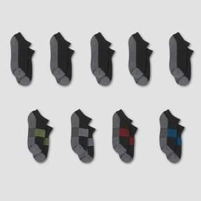 Hanes Kids' Premium® No Show Socks 8pk +1 Bonus - Black