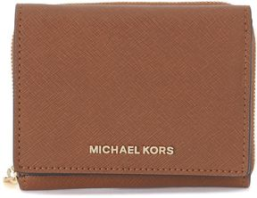 Michael Kors Billfold Saffiano Leather Wallet - MARRONE - STYLE