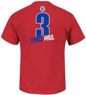 Majestic Boys 8-20 Los Angeles Clippers Chris Paul Record Holder Name and Number Tee