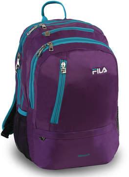 Fila Purple & Blue Duel Tablet & Laptop Backpack