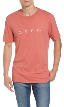 Obey Men's Logo Graphic T-Shirt