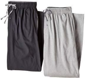 Hanes Men's 2-pk. Solid Lounge Pants