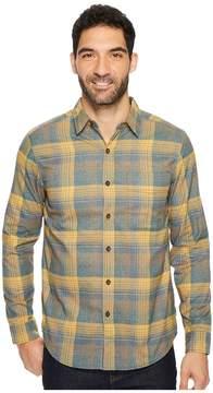 Royal Robbins Vintage Performance Flannel Plaid Long Sleeve Shirt Men's Long Sleeve Button Up