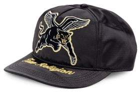 True Religion Satin Tiger Baseball Cap