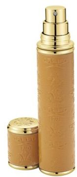 Creed Refillable Leather & Goldtone Pocket Atomizer/Camel/0.3 oz.