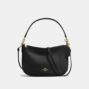 COACH Coach Chelsea Crossbody - LIGHT GOLD/BLACK - STYLE