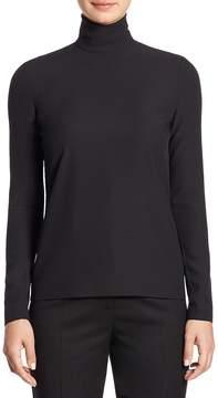 Sara Battaglia Women's Turtleneck Wool Shirt